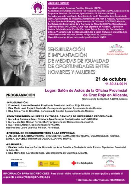 VII Jornadas Mesa de Igualdad con la participación de AEPA