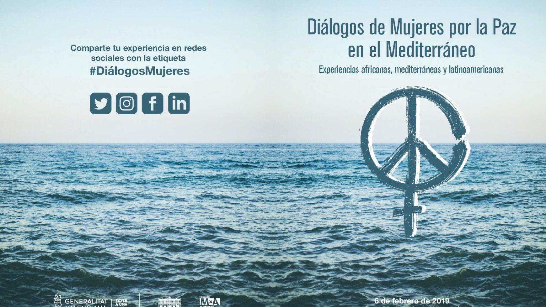 AEPA participa en el Foro Diálogos de Mujeres por la Paz en el Mediterráneo.