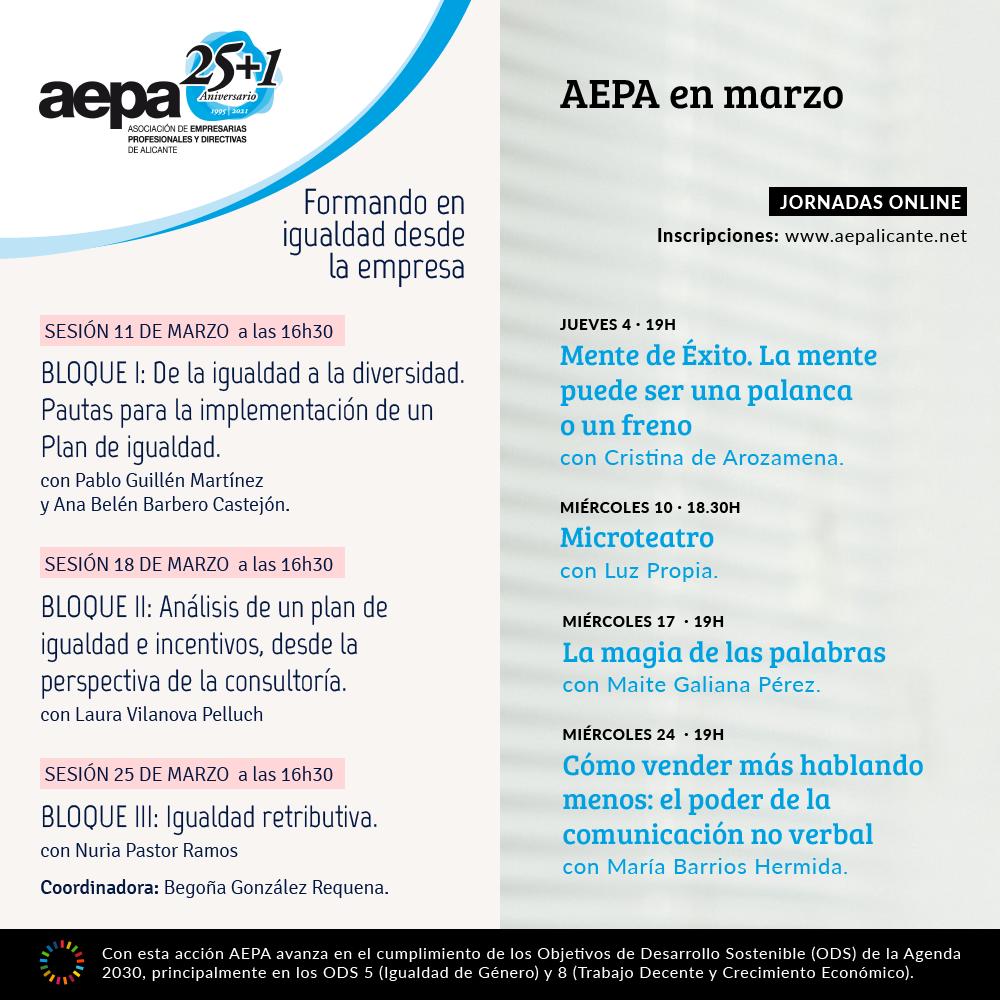AEPA en marzo