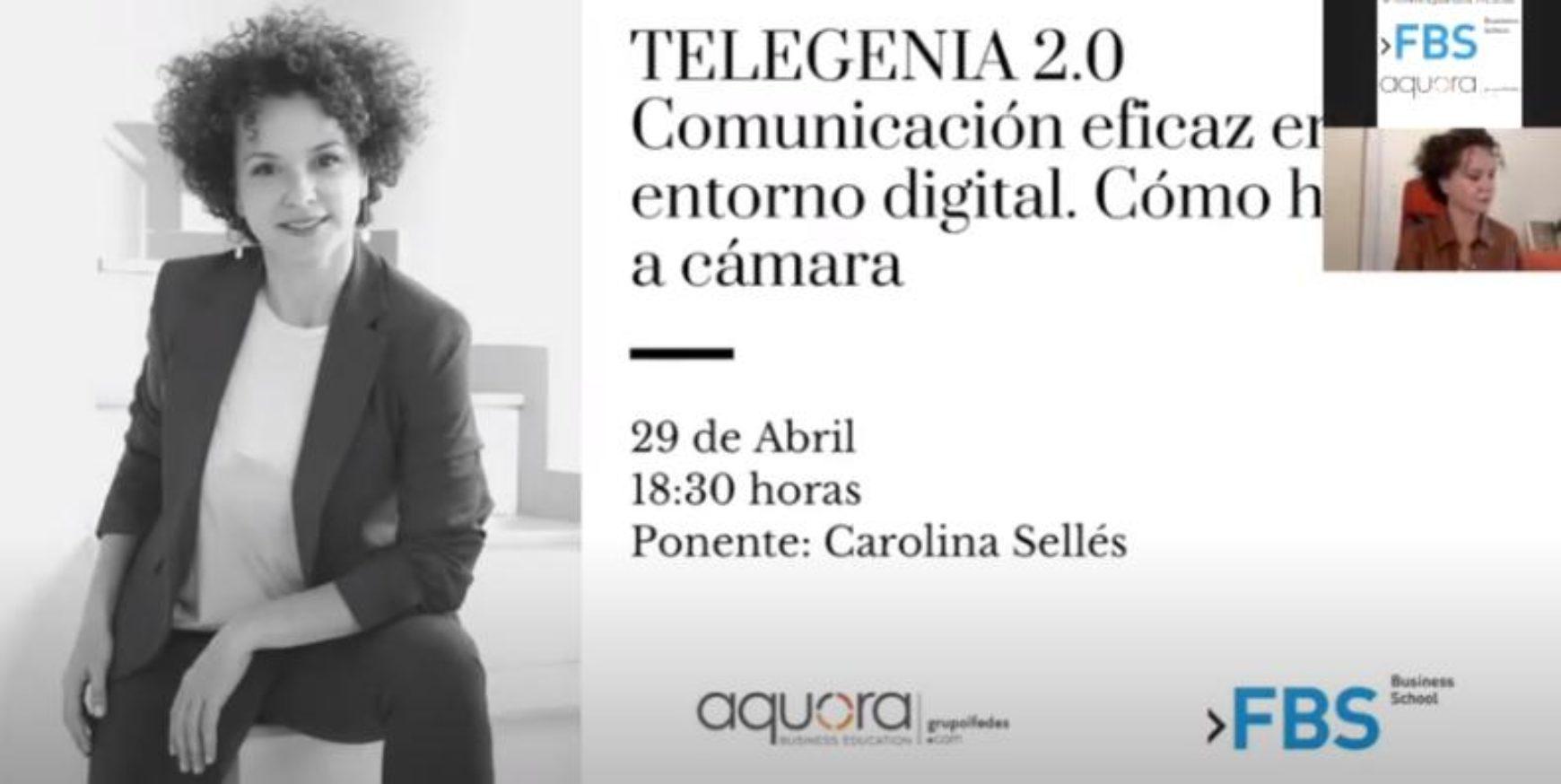 Telegenia 2.0: Comunicación eficaz en un entorno digital. Cómo hablar a cámara.
