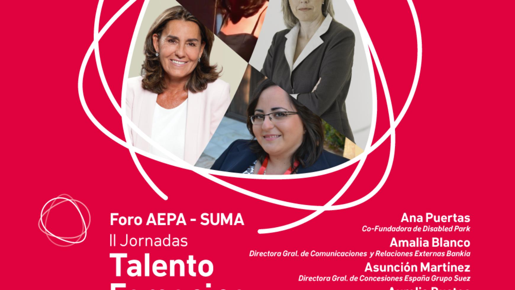 Foro AEPA-SUMA: «Retos y Oportunidades sobre el Talento Femenino en la Sociedad Actual»