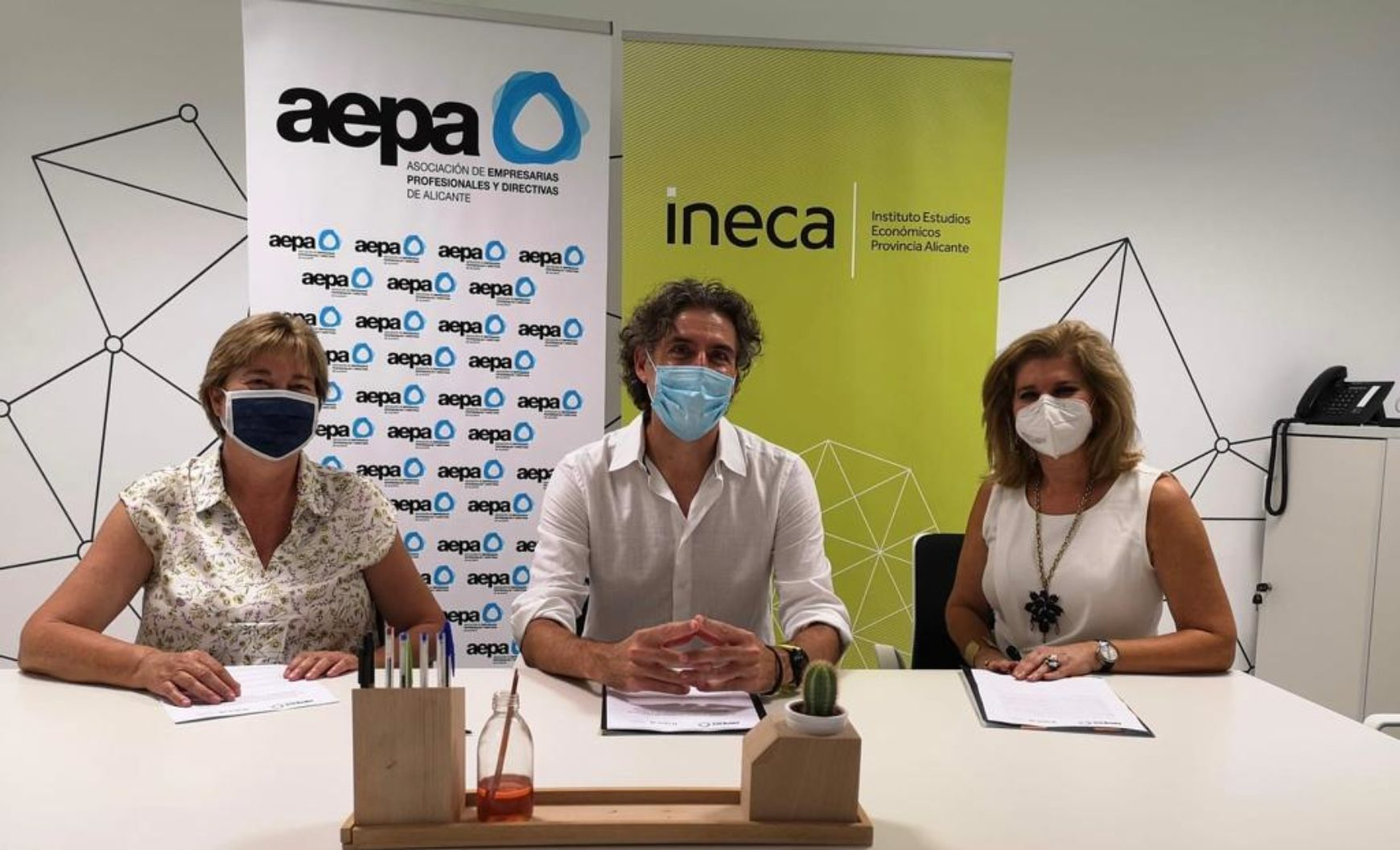 AEPA e INECA firman un convenio e intercambiarán información para impulsar los estudios