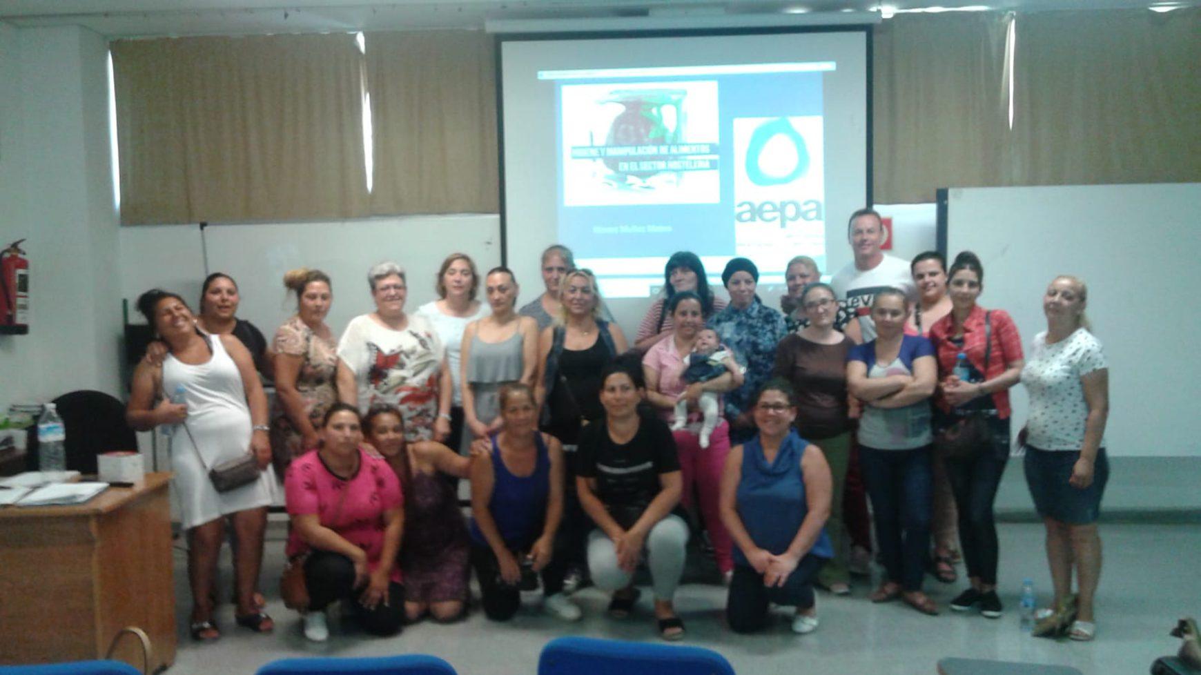 AEPA organiza un curso de manipulación de alimentos en Nazaret