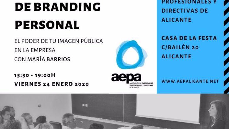AEPA organiza un curso de Branding Personal para socias.