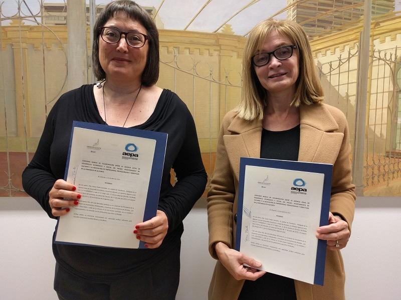 La Agencia Local y AEPA se unen para promover la formación y el emprendimiento femenino