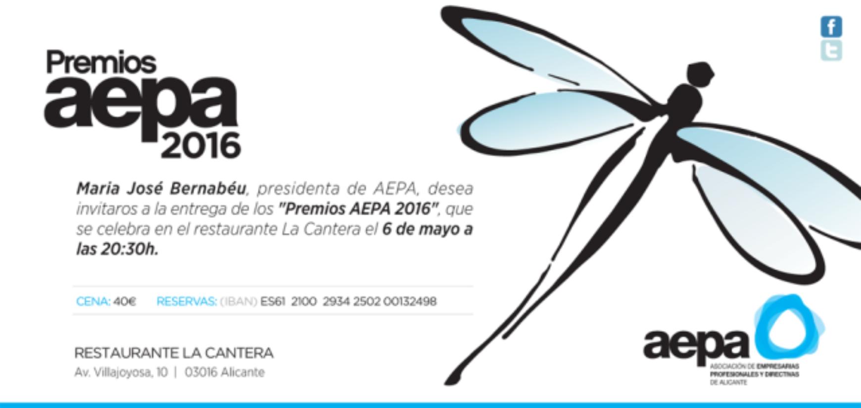Premios AEPA 2016 – Cambio de hora