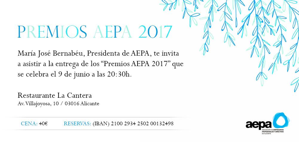 Premios AEPA 2017