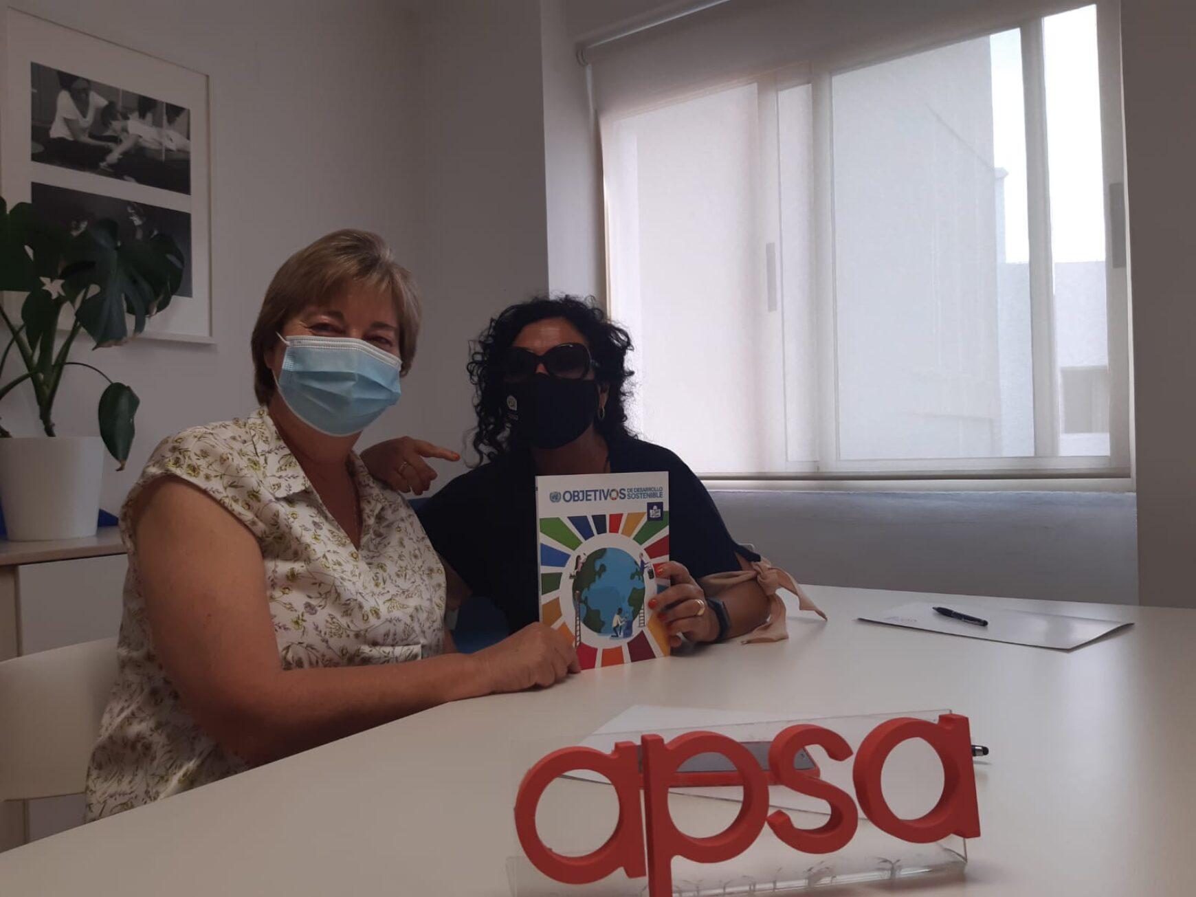 AEPA firma un convenio de colaboración con APSA