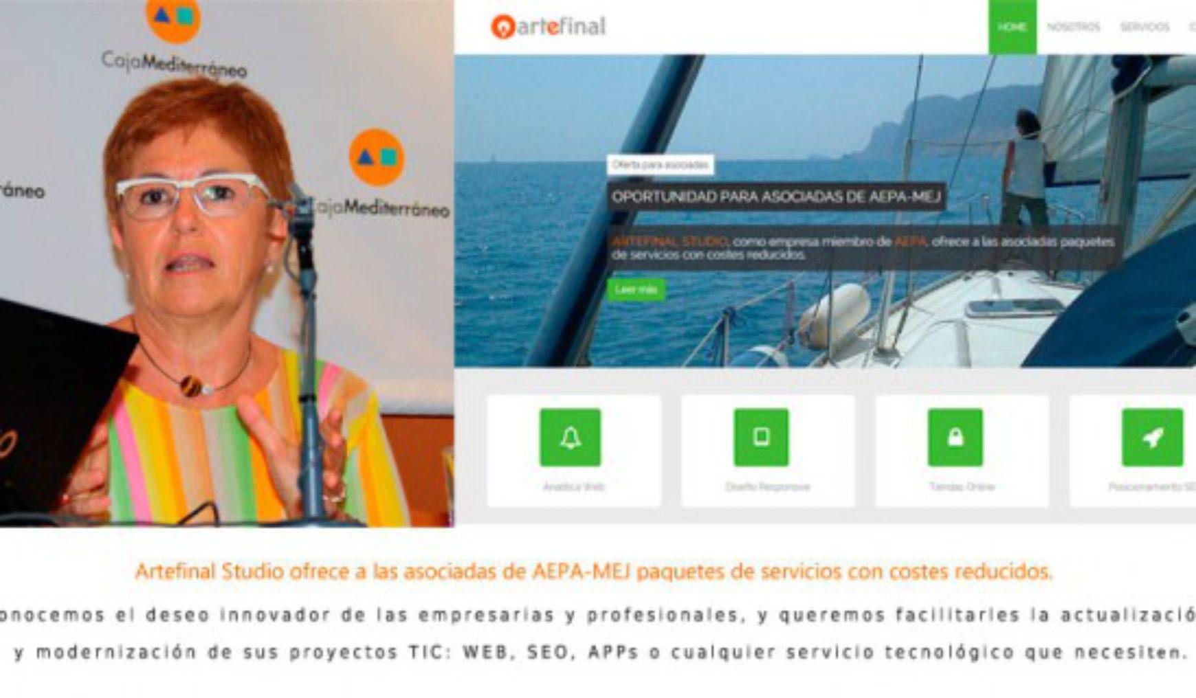 ArteFinal ofrece condiciones especiales a las asociadas AEPA