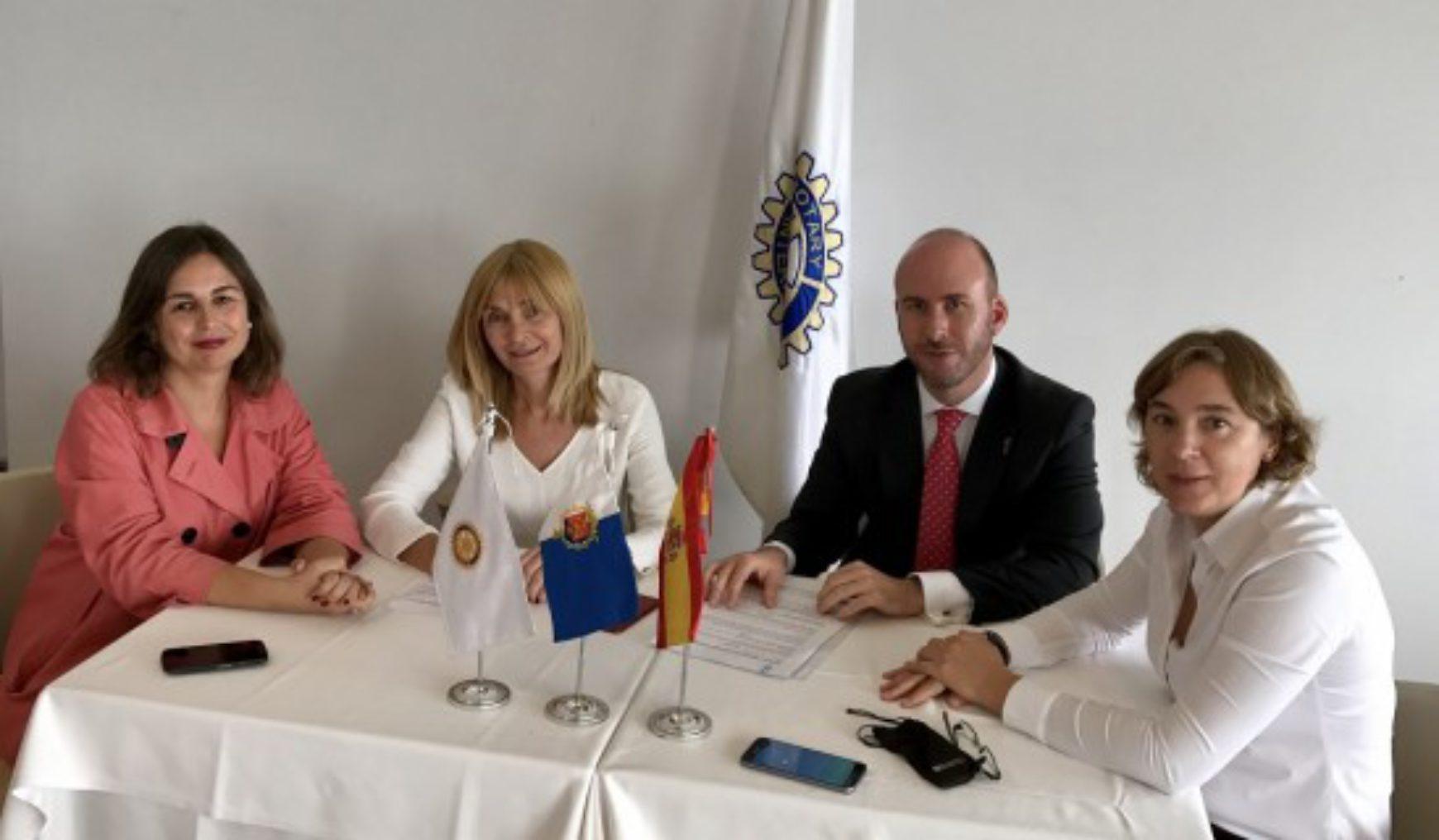 AEPA firma una línea de crédito con Rotary Club Alicante Puerto