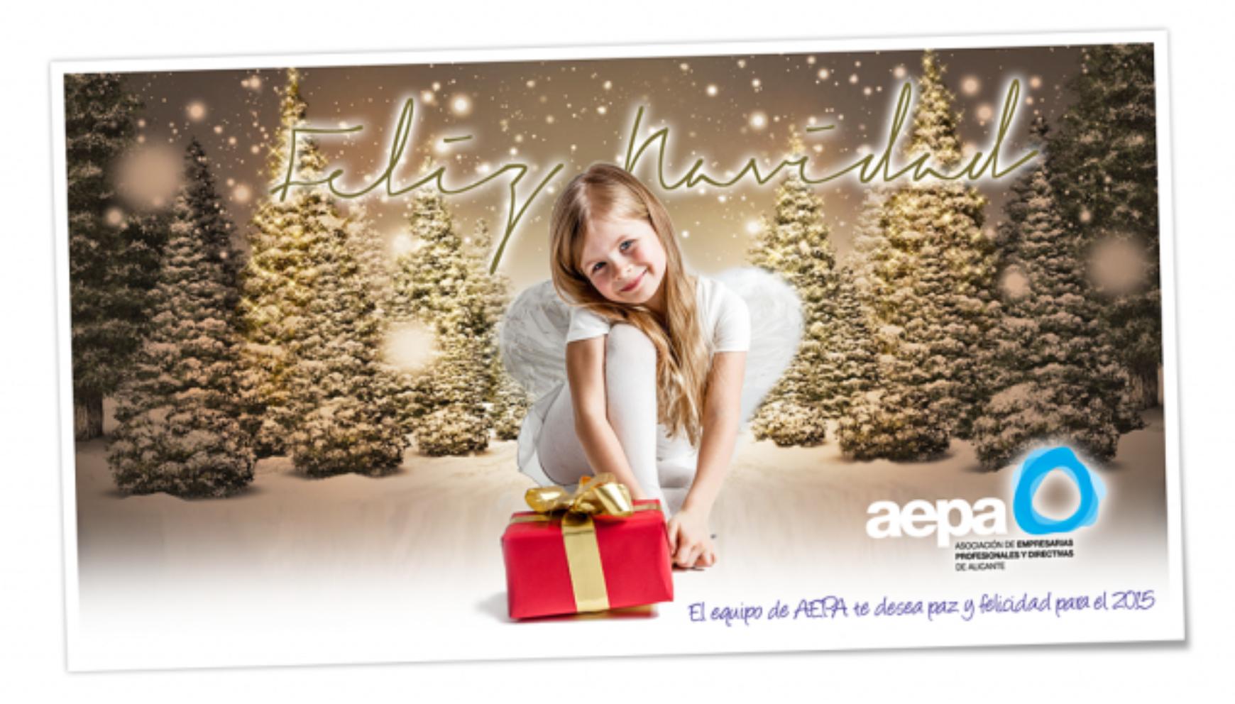 El equipo de AEPA te desea paz y felicidad para el 2015