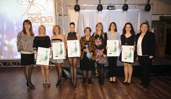 Los premios Aepa 2014 reconocen la labor de la mujer de la provincia de Alicante