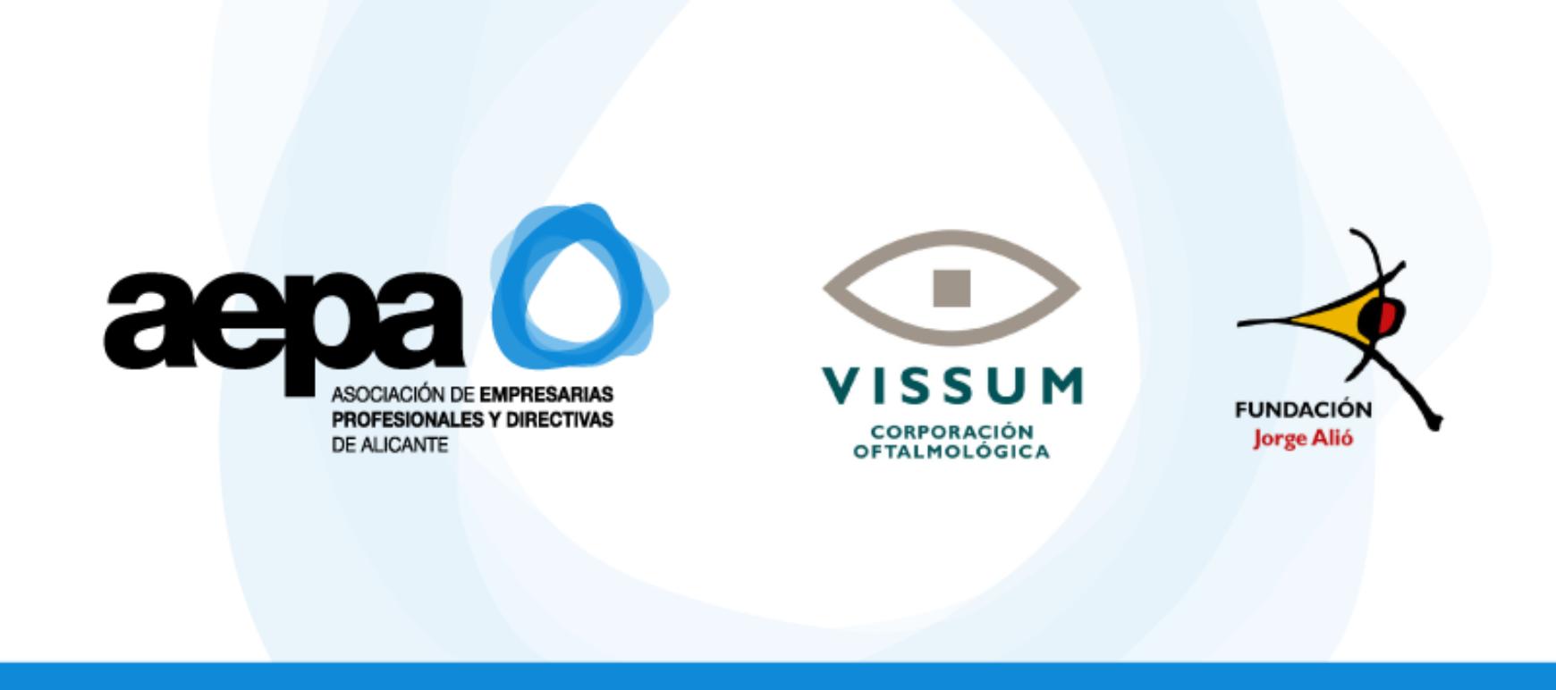Convenio de colaboración entre Vissum, Fundación Jorge Alió y AEPA