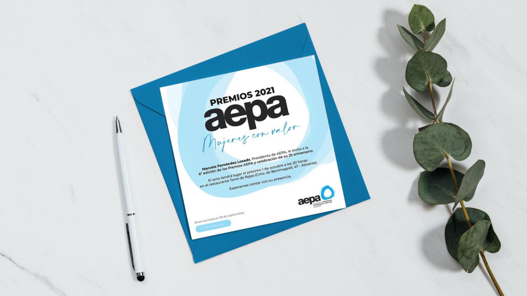 6ª edición Premios AEPA