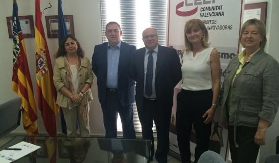 AEPA firma un convenio de colaboración con el CEEI de Elche